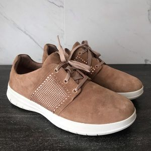 FitFlop F-Sporty Metal Stud Brow Sneakers